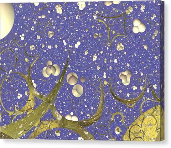 Mystic Stars Canvas Print by Mick Hogan