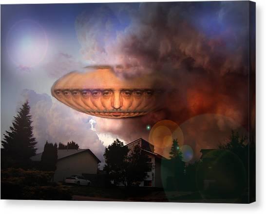 Mystic Ufo Canvas Print