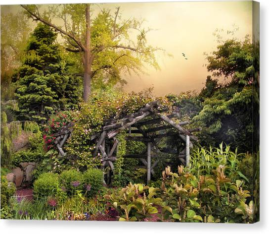 Arbor Canvas Print - Mystical Arbor by Jessica Jenney