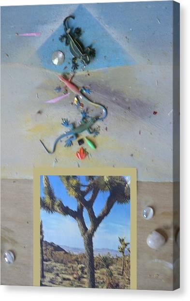Mystical Desert  A Canvas Print by Mary Ann  Leitch