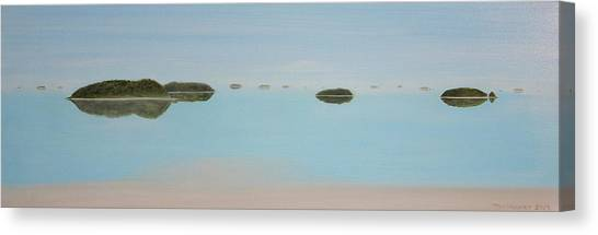 Mystical Islands Canvas Print