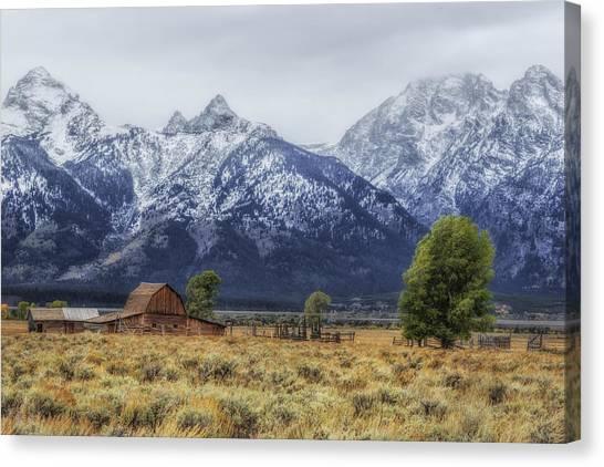 Mystical Mountain Living Canvas Print