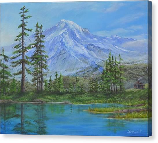 Mystical Mt. Rainier  Canvas Print