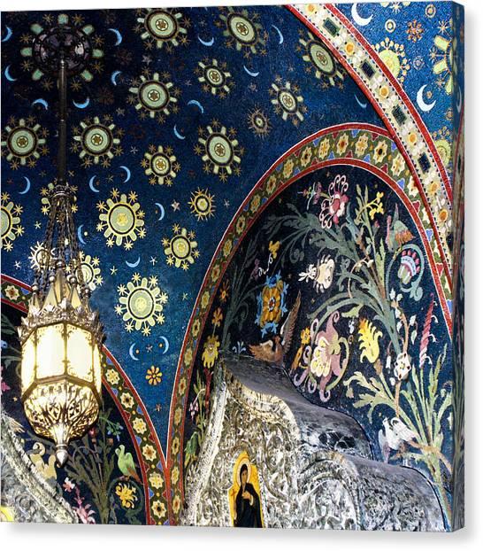 Mystical Russian Sky Canvas Print