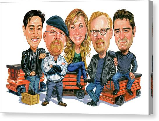 Mythbusters Canvas Print by Art