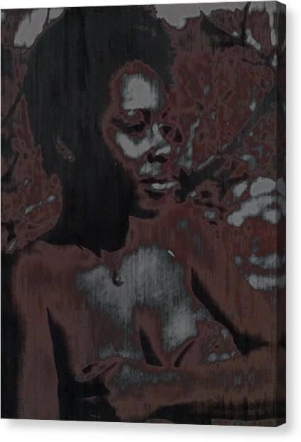 Mywoman Canvas Print by Anthony Lewis