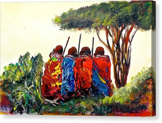 N 40 Canvas Print