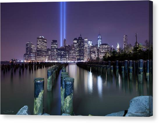 N Y C Tribute Canvas Print