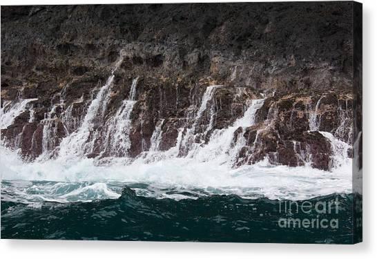 Na Pali Cascade Canvas Print