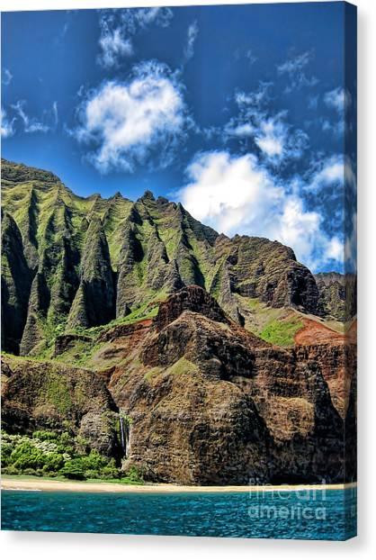 Na Pali Coast 1 Canvas Print by Baywest Imaging