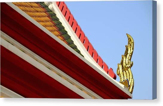 Naga Roof Canvas Print