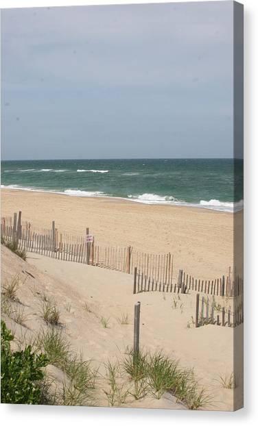 Nags Head Beach Canvas Print