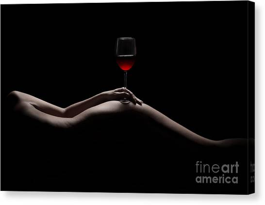 Contour Canvas Print - Naked Wine by Jt PhotoDesign
