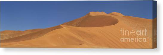 Namib Desert Canvas Print - Namibian Desert by Richard Garvey-Williams