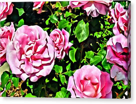 Nana's Roses Canvas Print