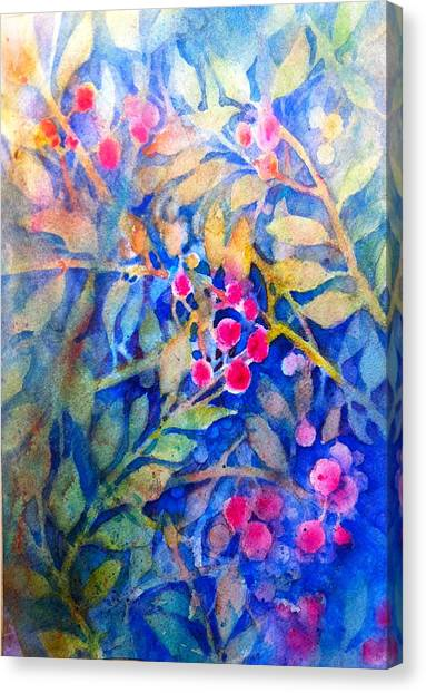 Nandina Canvas Print