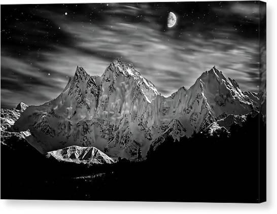 Nanga Parbat Canvas Print