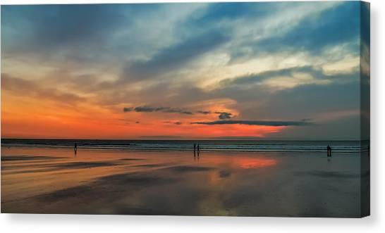 Nantasket Beach Sunrise Canvas Print