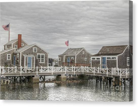 Nantucket Days Canvas Print