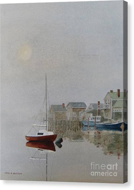 Nantucket Fog Canvas Print