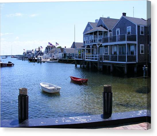 Nantucket Harbors Canvas Print