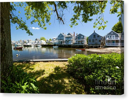 Nantucket Homes By The Sea Canvas Print