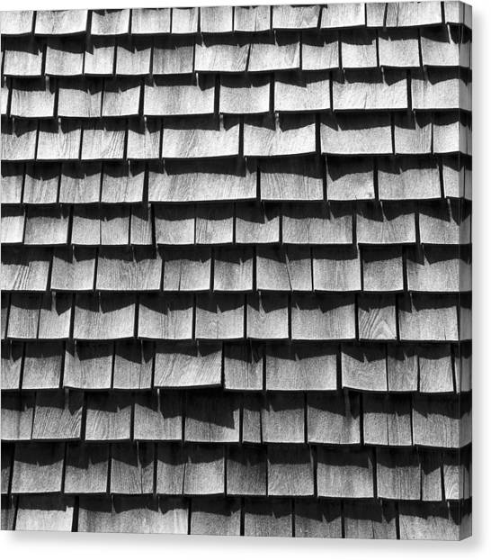 Nantucket Shingles Canvas Print