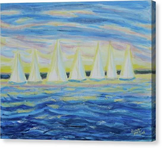 Nantucket Sunrise Canvas Print