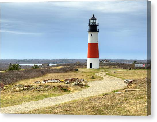 Nantucket's Sankaty Head Light Canvas Print
