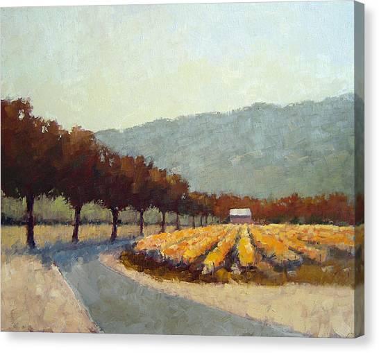Robert Frank Canvas Print - Napa Colors by Robert Frank
