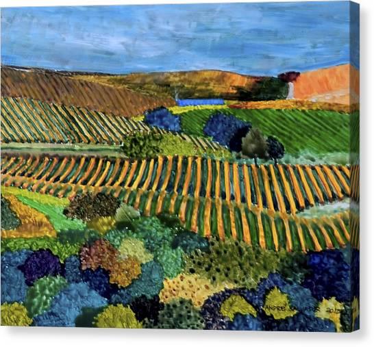Napa Valley Autumn Canvas Print