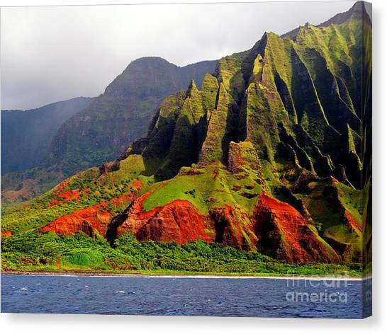 Napali Coast II Canvas Print