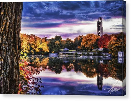 Naperville In Autumn Canvas Print