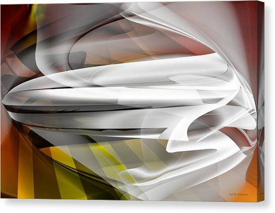 Napkin Folding - Abstract Canvas Print