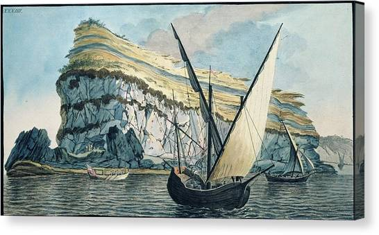 Mount Vesuvius Canvas Print - Naples Coast by Natural History Museum, London/science Photo Library