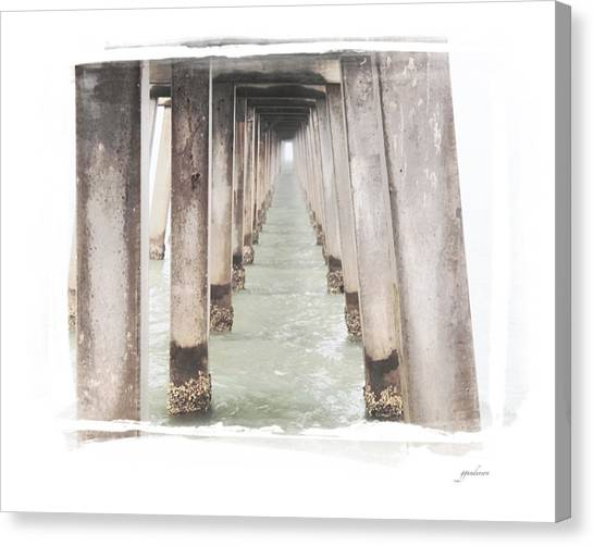Naples Fl Pier Canvas Print