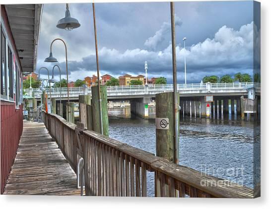 Naples Florida Waterfront Canvas Print