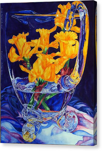 Narcisses Dans Un Vase From Master Class Canvas Print