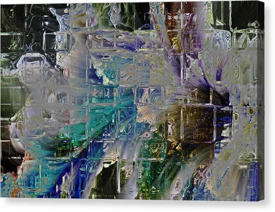 Narrative Splash Canvas Print