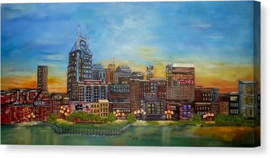 Nashville Tennessee Canvas Print