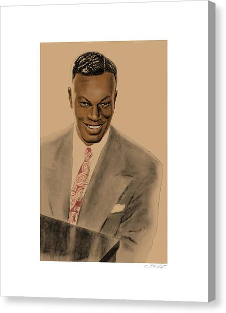 Nat King Cole Canvas Print