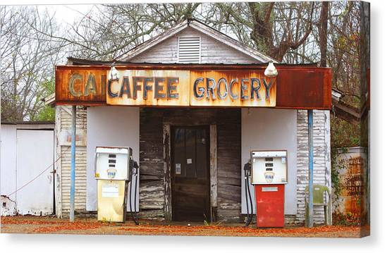 Natchez Store Canvas Print by Keith May