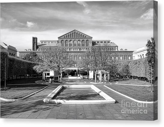 D.c. United Canvas Print - National Law Enforcement Officers Memorial by Olivier Le Queinec