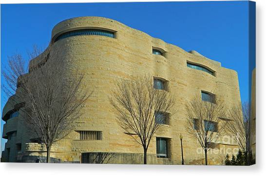 Smithsonian Museum Canvas Print - National Museum Of The American Indian by Emmy Vickers
