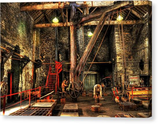 Industry Canvas Print - National Slate Museum by Svetlana Sewell