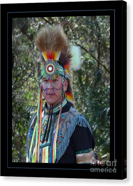 Native American Portrait Canvas Print