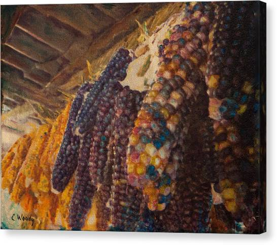 Native Corn Offerings Canvas Print