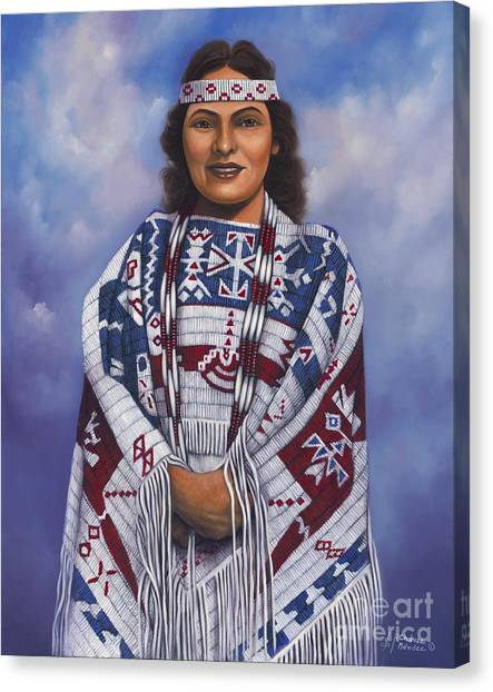 Native Queen Canvas Print
