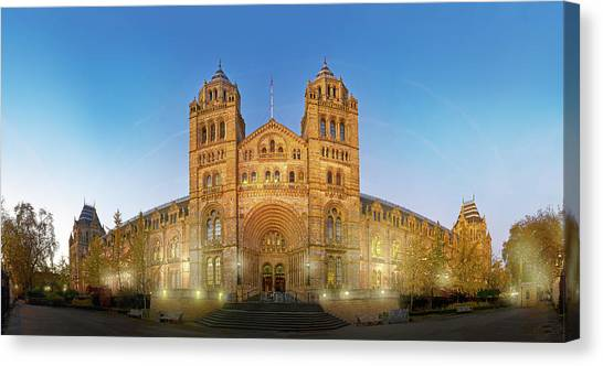 Natural History Museum Canvas Print by Natural History Museum, London
