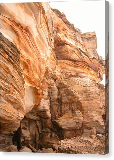Natural Rock Canvas Print